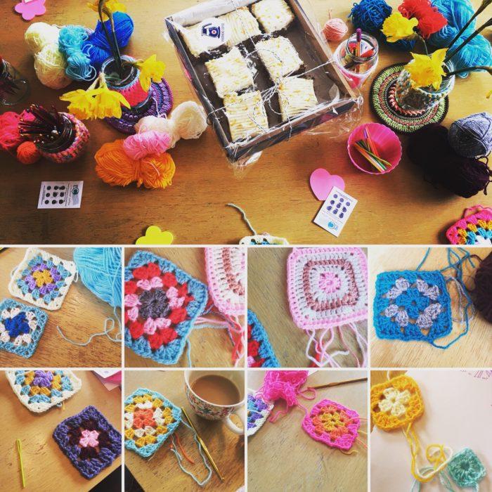 Crochet Club Granny Squares