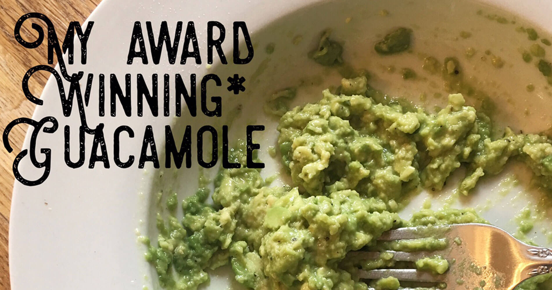It Started with a Stitch - Guacamole