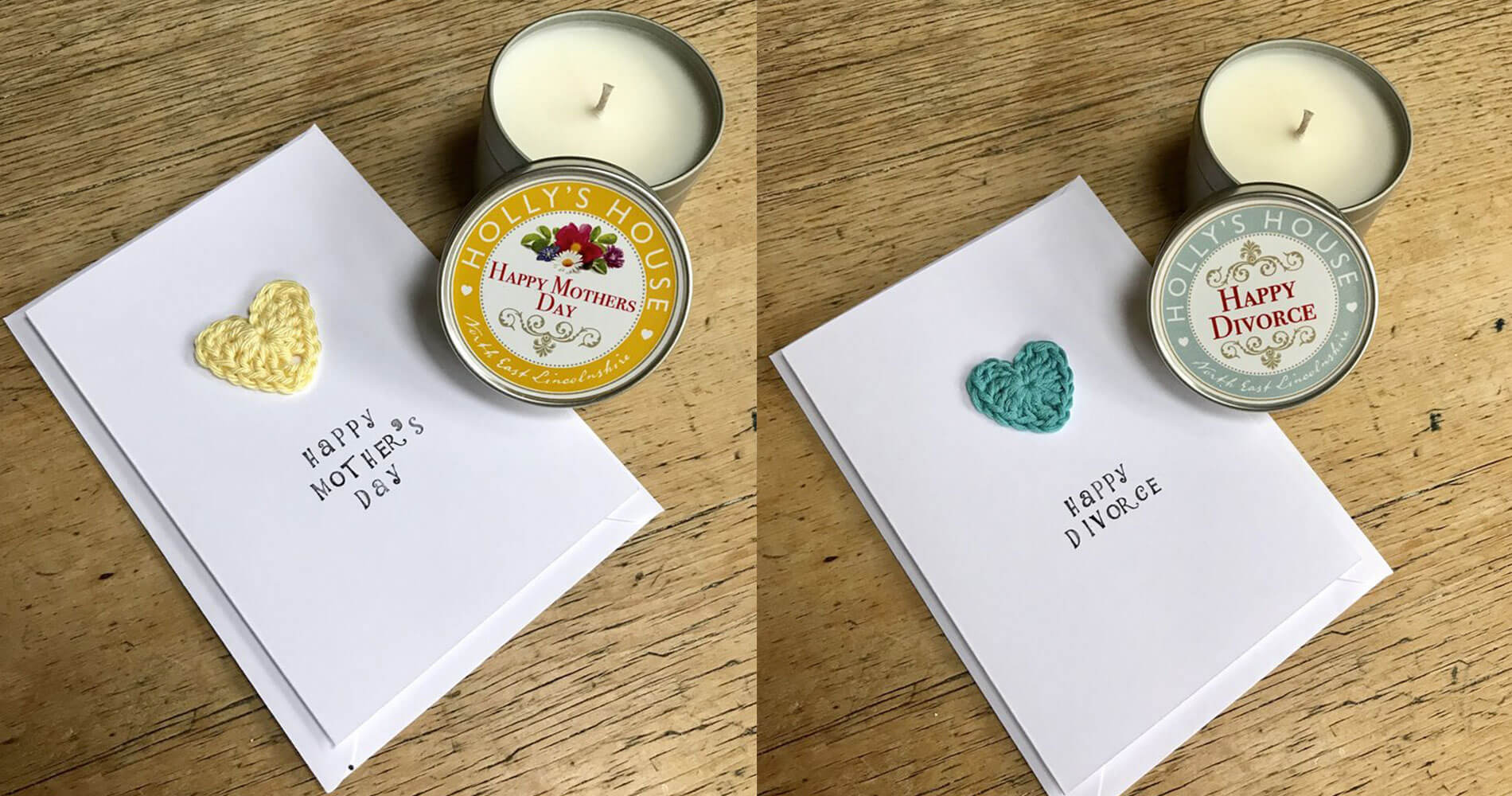 It Started with a Stitch - Cards and Candles
