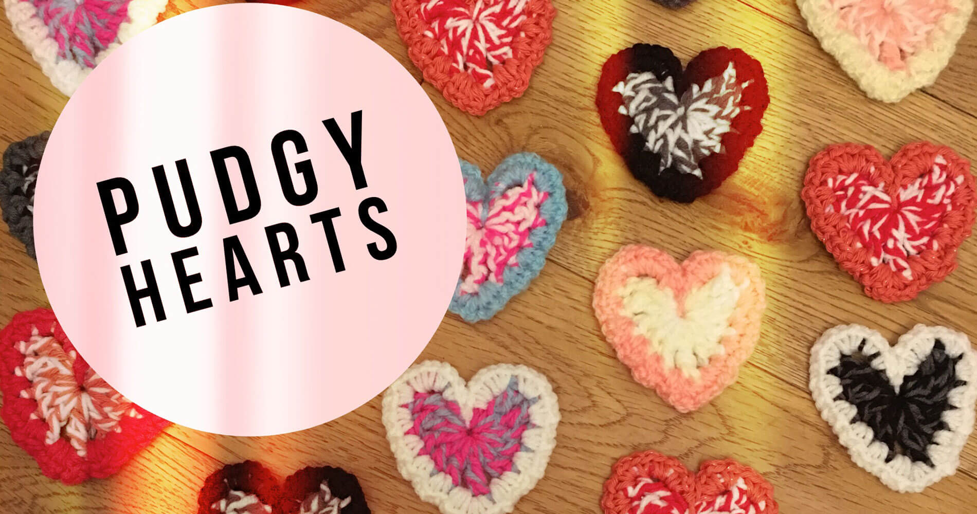It Started with a Stitch - Pudgy Hearts