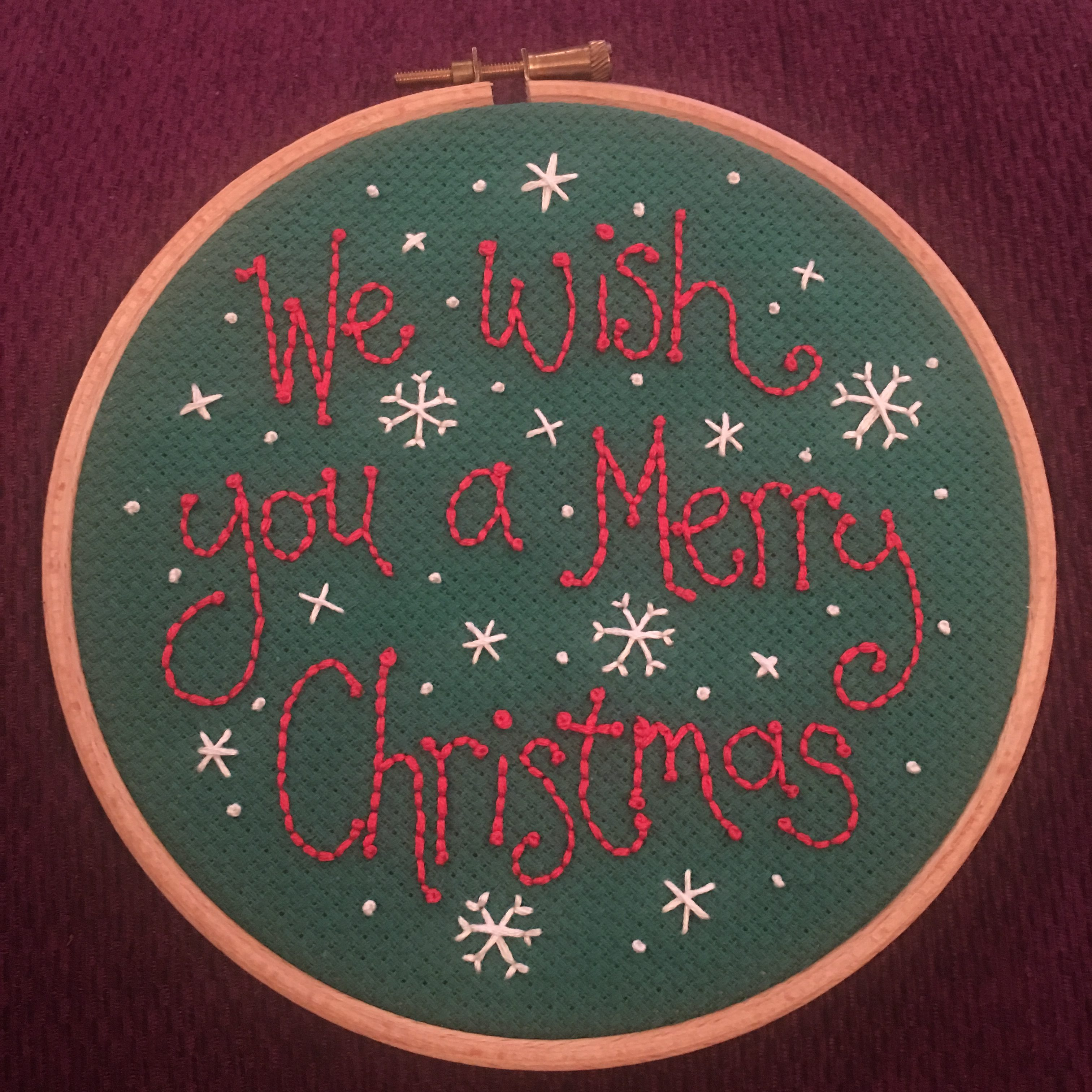 Christmas Embroidery Workshop - make your own!
