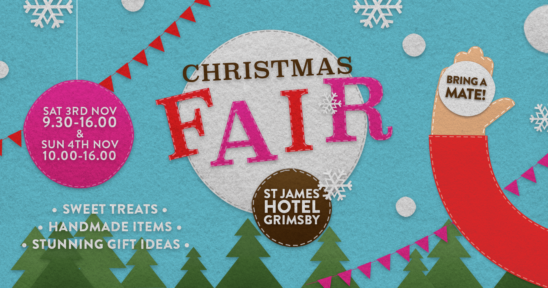 It Started With A Stitch | Christmas Fair