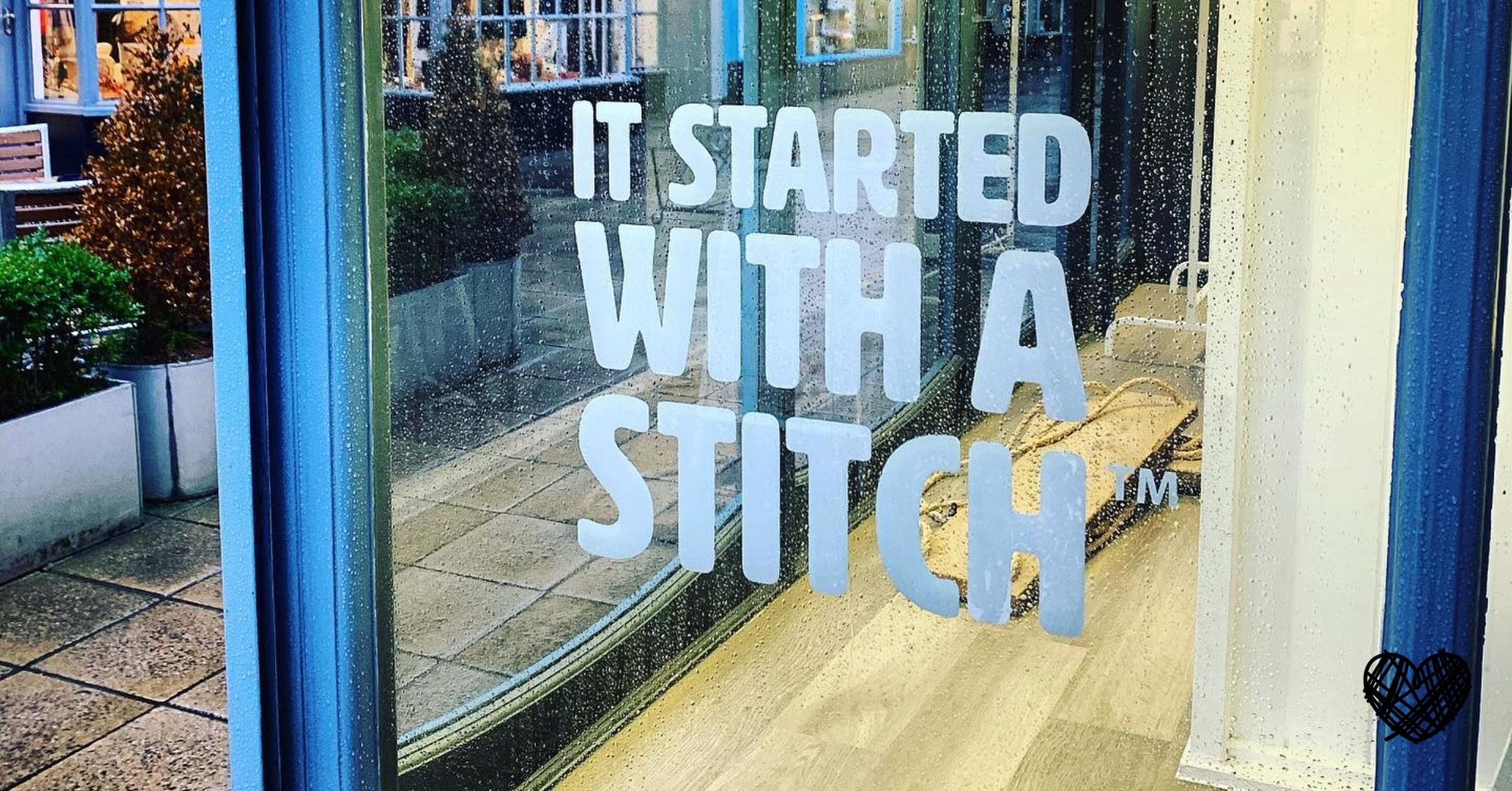It Started With a Stitch - The Shop